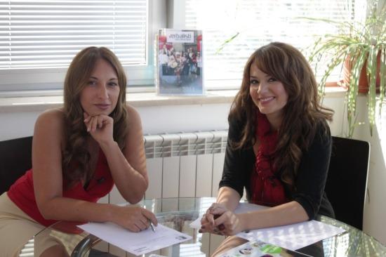 Elena Risteska s jezickom mrezom Verbalisti