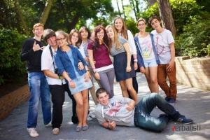 Polaznici skole engleskog jezika u Bornmutu, Verbalisti