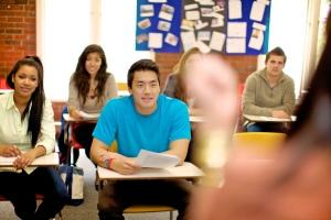 Učionica u Kings koledžu u Bostonu