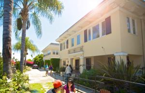 Kampus koledža Kings nalazi se na legendarnom Sanset bulevaru u Los Anđelesu