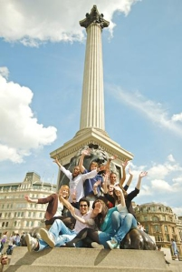 Trafalgar skver u Londonu