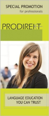 PRODIREKT, promocija za poslovne jezicke programe