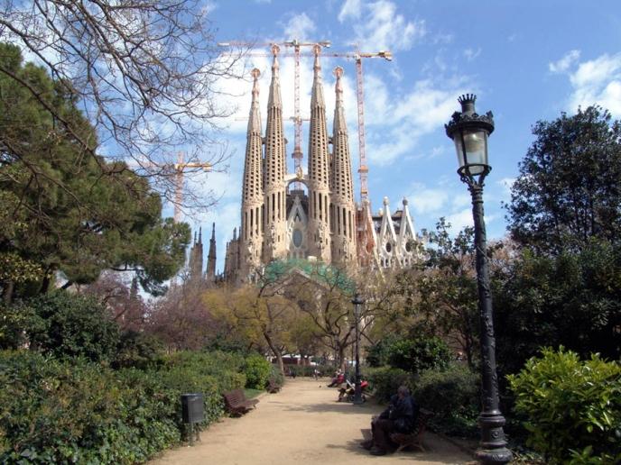 Sagrada Familia u Barseloni