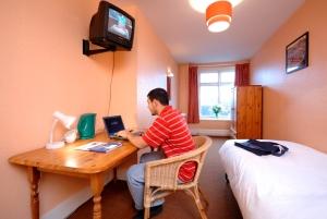 Studentska soba u rezidenciji Sent Džajls koledža u Londonu