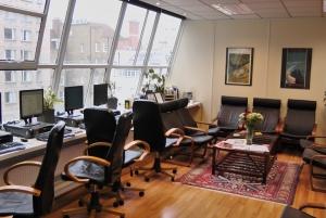 Platinum Lounge u koledžu Sent Džajls u Londonu
