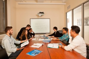 Učionica u koledžu Sent Džajls u Njujorku