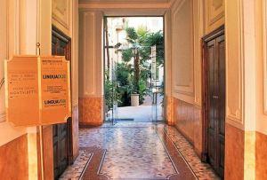 Ulaz u školu Linguadue u Milanu
