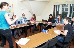 Nastava u koledžu St. Giles