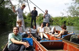 Panting (punting) je jedna od stvari koja se u Oksfordu ne propušta!