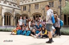Polaznici jezicke mreze Verbalisti u Christ Churchu, Oxford
