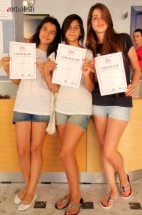 Učenice jezicke mreze Verbalisti nakon zavrsene skole