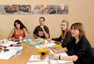 Verbalisti polaznici na času u školi Liden i Denz u St Peterburgu