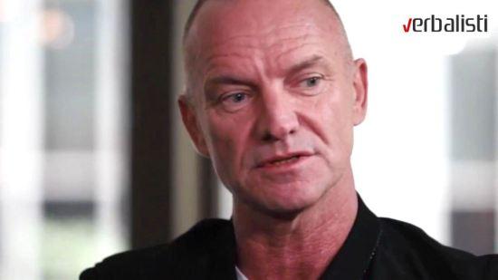 Verbalisti predstavljaju, Sting i knjiga Broken Music