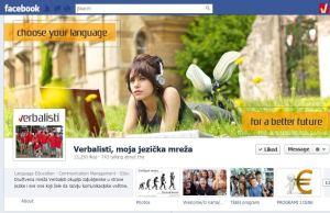 Strani jezici i jezicka mreza Verbalisti na Fejsbuku