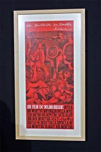 Pablo Pikasov poster za film Bitka na Neretvi