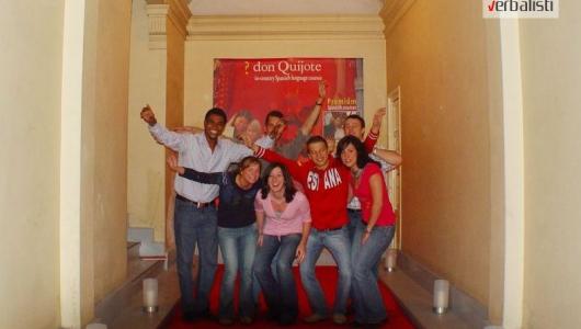 Verbalisti polaznici skole za spanski jezik Don Quijote u Madridu