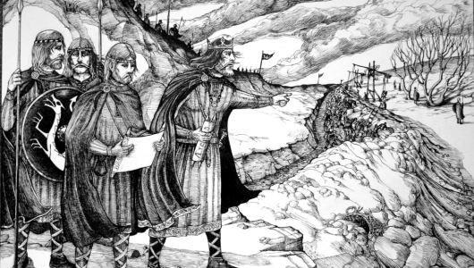 Istorija engleskog jezika i uticaj Anglosaksonaca i Vikinga