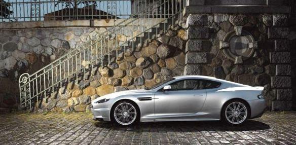 Aston Martin koji se pojavio u filmu Zrno utehe