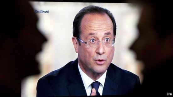 Francuski predsednik Fransoa Olando
