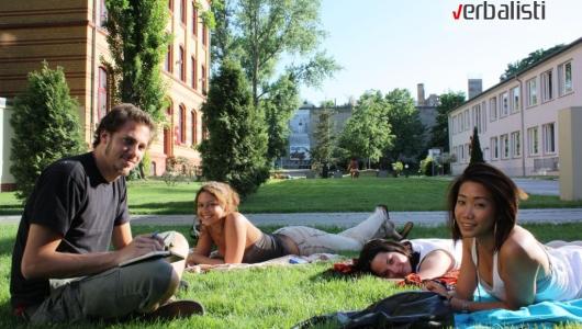 Skola nemackog jezika u Berlinu, izgled kampusa; Jezička mreža Verbalisti