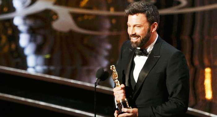Ben Aflek na dodeli Oskara