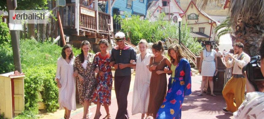 Verbalisti na snimanju filma u Popajevom selu na Malti