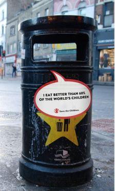 Save the Children reklama