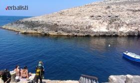 Ghar Lapsi - najpopularnije mesto za ronjenje zbog podvodnih pećina