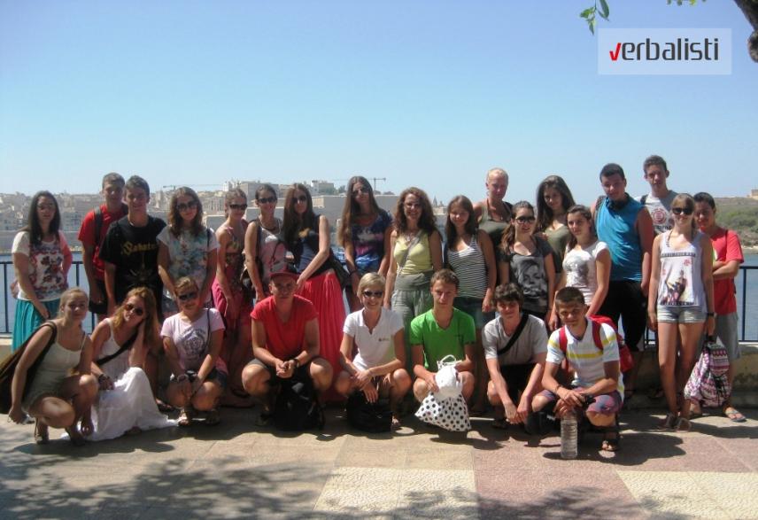 Letnja skola engleskog jezika na Malti, Verbalisti