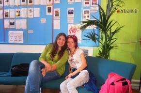 Mina i Tijana u jezičkoj školi Kings