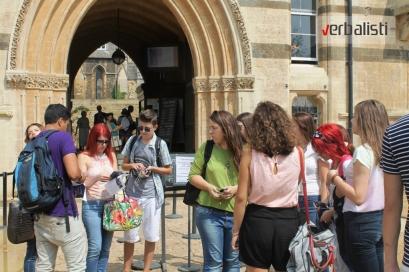 Obilasci i vannastavne aktivnosti u Oksfordu, Verbalisti