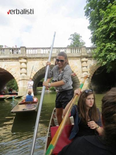 Voznja camcem u Oksfordu, Verbalisti