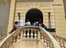 Ulazak u skolu GV Malta