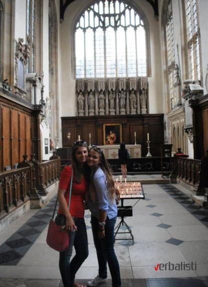 Aleksandra i Ana, Oksford 2013