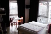 Izgled cetvorokrevetne sobe u studentskom hostelu Meininger