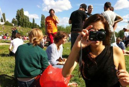 ...nedeljno popodne u popularnom Mauerparku
