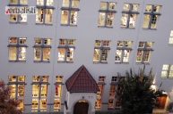 Pogled na učionice škole GLS