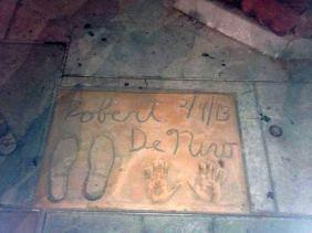 Robert de Niro plocnik slavnih
