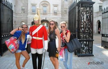 Jezicko putovanje Verbalista u London