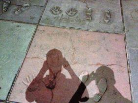 Walk of famous in LA