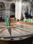 At London St Pauls Cathedral