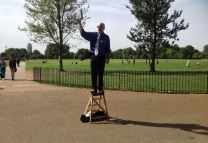 At Speakers Corner