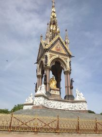 At The Albert Memorial