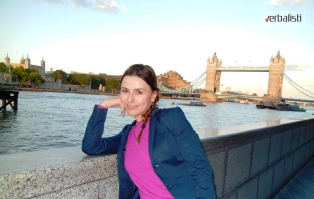 Ivana Mrvaljevic u Londonu, 2013, Verbalisti