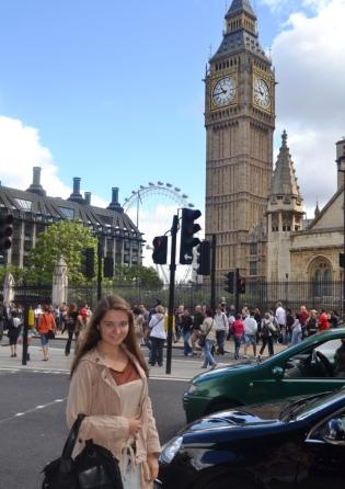 Matea u Londonu