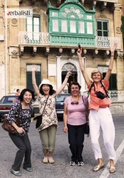 Polaznici jezicke mreze Verbalisti na Malti