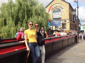With Roberta Barin at Camden Town