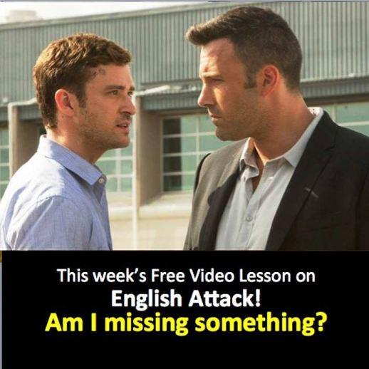 Dzastin Timberlejk i Ben Aflek u video vezbi za engleski, Verbalisti