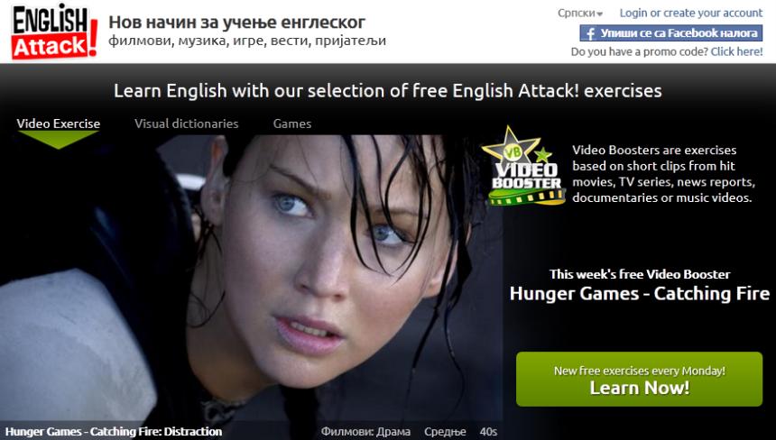 Video lekcija za ucenje engleskog jezika, Hunger Games, Verbalisti