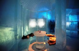 Ice bar u Ledenom hotelu